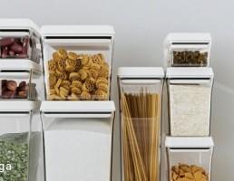 شیشه جای خشکبار آشپزخانه