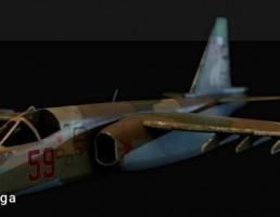 جت نظامی مدل Su-25 aka