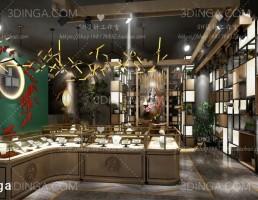 صحنه داخلی فروشگاه جواهرات
