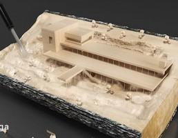 خانه چوبی تزیینی