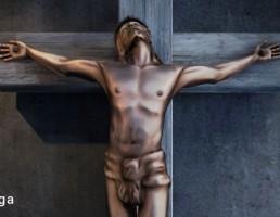 مجسمه عیسی بر صلیب