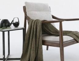 صندلی چوبی + میز