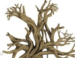 تنه درخت تزیینی