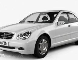ماشین مرسدس بنز مدل W20 sedan سال 2005