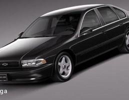 شورلت مدل Impala SS سال 1994 -1996