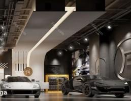 نمایشگاه ماشین سبک مدرن