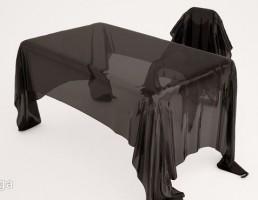 میز شیشه ایی + صندلی