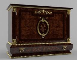 مدل صندوقچه چوبی کلاسیک