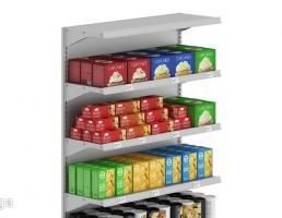 ویترین مواد غذایی سوپر مارکت