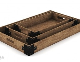 مجموعه جعبه چوبی