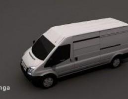 ماشین آمبولانس Ford TRANSIT