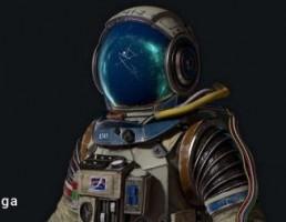کاراکتر  مهندس پشتیبانی ایستگاه فضایی