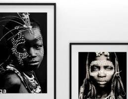 پرتره زن آفریفایی