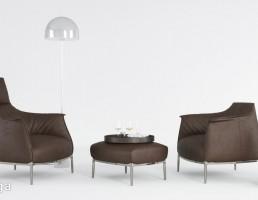 کاناپه راحتی + چراغ آویز