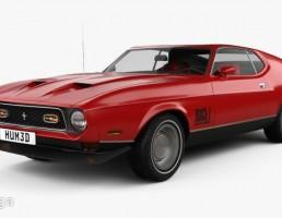 ماشین فورد موستانگ سال 1971