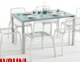 ست میز و صندلی مدرن