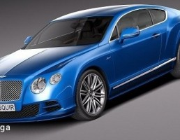 Bentley Continental مدل GT Speed سال 2015