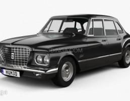 ماشین پلیموت مدل Valiant sedan سال 1960