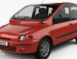 ماشین فیات مدل Multipla سال 1998