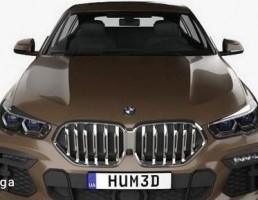 ماشین BMW مدل X6 M sport 2020