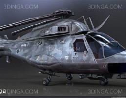 هلیکوپتر نظامی دیده بانی
