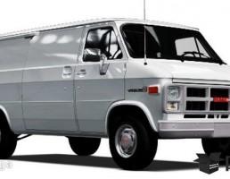 GMC وندورا  مدل  G 1500 سال 1983