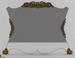 آینه کنسول کلاسیک