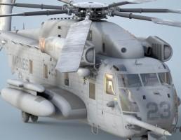 مدل بالگرد CH-53E Sea Stallion