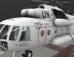 هلی کوپتر Mi-8MTV UN