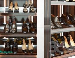 چند جفت کفش  زنانه