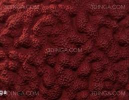 تکسچر PBR مرجان قرمز