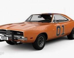 ماشین Dodge Charger  سال 1969