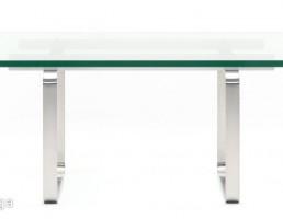میز قهوه شیشه ایی