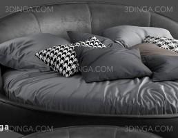 تخت خواب گرد شکل