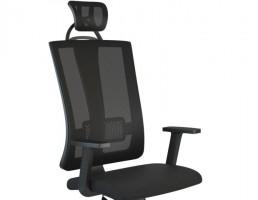 صندلی گردان همراه با جای سر