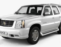 ماشین کادیلاک مدل Escalade سال 2002