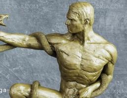 مجسمه مرد نشسته (تندیس)