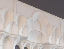 گچبری سقف مساجد
