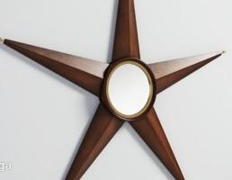 آینه به شکل ستاره