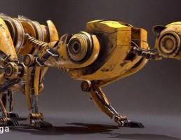 پوزپلنگ رباتیک