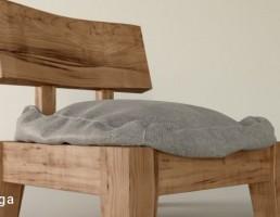 صندلی چوبی ژاپنی