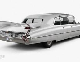 ماشین کادیلایک مدل Fleetwood سال 1959