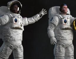 فضانورد ریگ شده