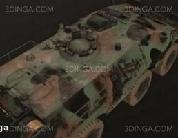 ماشین نظامی پوما ایتالیایی 6x6