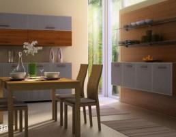 صحنه داخلی آشپزخانه