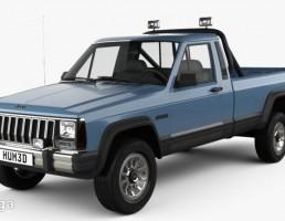 ماشین جیپ کامانچ مدل MJ 1984