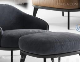 صندلی راحتی + جلو پایی (پاف)