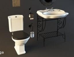 روشویی + توالت فرنگی