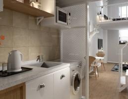 آشپزخانه و غذاخوری سبک مدرن 9
