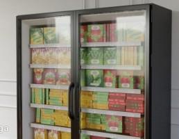 یخچال ویترینی فروشگاه